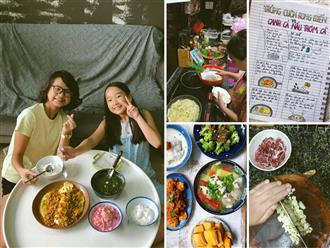 Mẹ đảm biến con gái 'bé xíu' thành 'đầu bếp' nhờ châm ngôn: 'Nấu ăn là kỹ năng cần thiết cho cả nam và nữ'