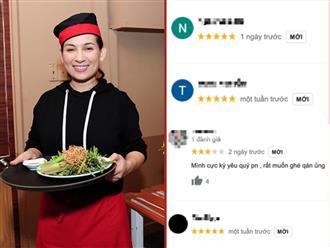 Netizen hối hận, quay lại đánh giá 5 sao cho nhà hàng chay của cố NS Phi Nhung