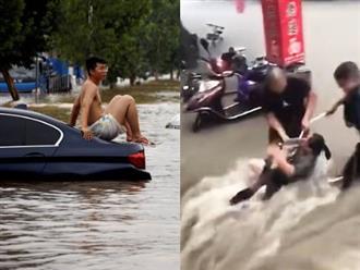 Số người tử vong trong trận mưa 'nghìn năm có 1' tại Trung Quốc tăng gấp 3 lần, 300 người chết và hàng chục người mất tích