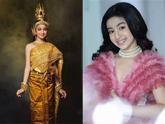 'Xuýt xoa' vẻ đẹp lai cực phẩm của tiểu công chúa được mệnh danh là 'quốc bảo của Hoàng gia Campuchia'