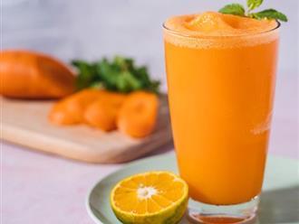 Tác dụng của nước ép cà rốt với sức khỏe và làm da, 7 cách làm ép cà rốt