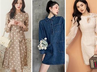 3 mẫu váy cho những ngày trời trở lạnh, chị em mặc vào xinh như hot girl xứ Hàn