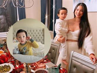 Đi Mỹ chữa bệnh 1 năm, HH Phạm Hương đã có con trai lớn phổng phao, cuộc sống viên mãn vạn người mê