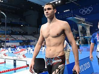 Nam thần bơi bướm tham dự Olympic để phá kỷ lục nhưng thất bại vì chiếc quần 'phản chủ'