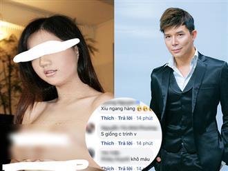 Sau loạt đấu tố với Ngọc Trinh, Nathan Lee cố ý đăng ảnh dung tục của một cô gái kèm câu hỏi gây sốc: 'Ủa đứa nào phẫu thuật thẩm mỹ đấy?'