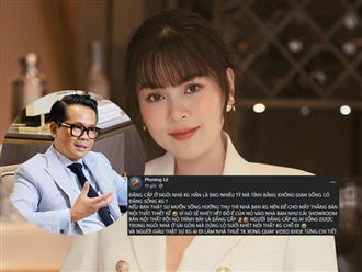 Hoa hậu Quý bà Phương Lê tố một NTK 'chơi dơ', thuê biệt thự để 'làm màu' câu view, CĐM gọi tên Thái Công
