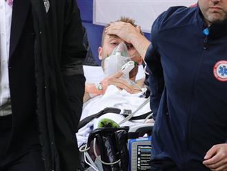 NÓNG: Tiền vệ Christian Eriksen đã tỉnh lại sau khi bị đột quỵ trong trận Đan Mạch vs Phần Lan