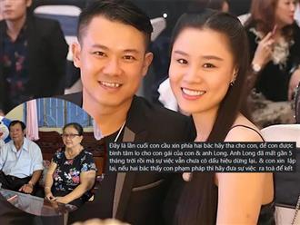 Linh Lan giãi bày chuyện tiền phúng điếu, cầu xin bố mẹ cố NS Vân Quang Long buông tha cho mình và con gái