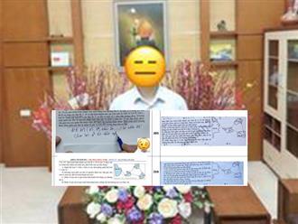 Xôn xao đề ôn khóa VIP của một thầy phó hiệu trưởng giống đề thi chính thức của Bộ 80%