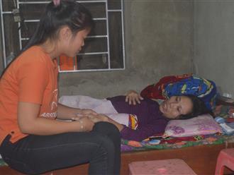 20 năm phụ hồ nuôi con, mẹ đơn thân bị tai nạn lao động dập tủy sống nằm liệt giường, toàn thân lở loét