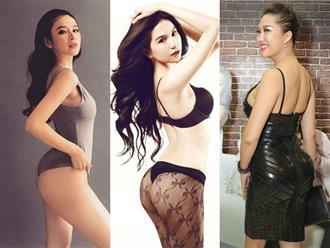 Đây là những mỹ nhân được mệnh danh 'siêu vòng ba' của showbiz Việt