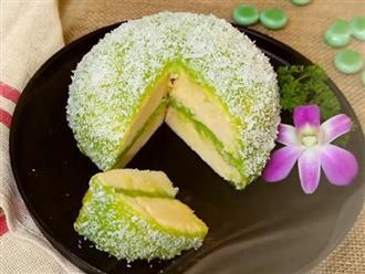 CĐM 'lùng sục' công thức làm bánh bông lan Phú Sĩ bên ngoài siêu đẹp mắt, bên trong béo thơm