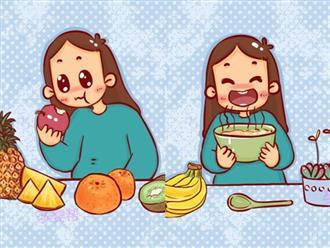 2 thời điểm mẹ bầu nhớ ăn trái cây để thai nhi hấp thụ dưỡng chất tốt nhất