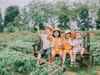 """4 anh chị em họ ở 3 miền Bắc - Trung - Nam cùng thực hiện bộ ảnh """"đàn chuột con rong chơi"""" đẹp đến say lòng"""