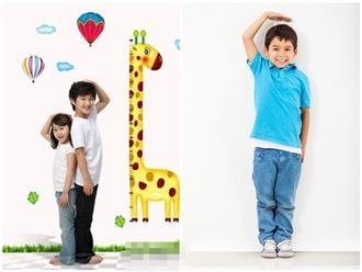 5 dấu hiệu có thể dự đoán tương lai con bạn sẽ cao