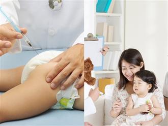 6 cách đơn giản giảm đau cho bé sau khi tiêm phòng