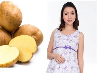 Bà bầu ăn khoai tây có bị tiểu đường thai kỳ không?