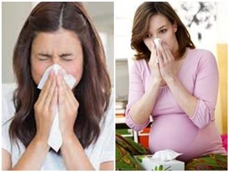 Bà bầu bị chảy máu cam là hiện tượng bình thường hay nguy hiểm trong thai kỳ?