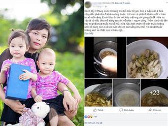 Bài thuốc trị dứt cơn ho cho con của mẹ Hải Dương khiến chị em bỉm sữa thích mê