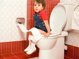 Bí quyết dạy bé biết bảo mẹ khi muốn đi vệ sinh