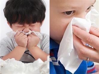 Các bước xử lý khi trẻ bị chảy máu cam cha mẹ cần biết