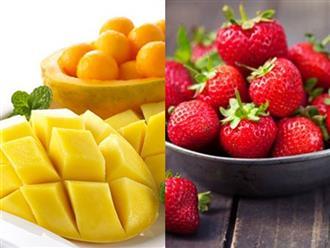 Các loại trái cây giàu vitamin C giúp bé tăng sức đề kháng