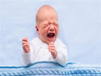 Cách khắc phục tình trạng trẻ sơ sinh bị sôi bụng