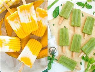 Cách làm kem trái cây sắc màu giải nhiệt mùa hè cho bé