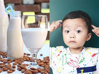 Cách làm sữa hạt hạnh nhân giàu dinh dưỡng cho bé khỏe mạnh, thông minh