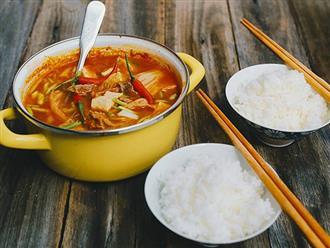 5 cách nấu canh kim chi ngon chuẩn vị Hàn Quốc