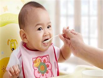 Cách pha bột ăn dặm cho các bé tập ăn mà nhiều mẹ chưa biết