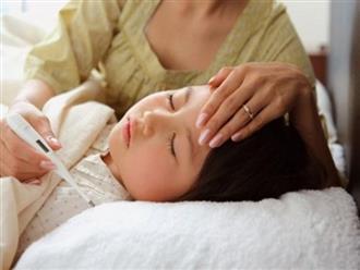 Cách xử trí tại nhà khi trẻ bị sốt virus giúp bé nhanh hồi phục sức khỏe