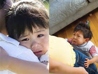 Cần làm gì với trẻ hay nhõng nhẽo, mè nheo khi gặp mẹ?