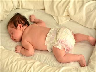 Cảnh báo những rủi ro ảnh hưởng đến tính mạng nếu trẻ sơ sinh nằm sấp khi ngủ