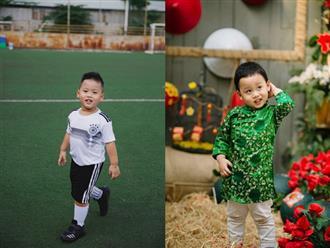 Cậu bé đi phượt cùng bố mẹ từ 4 tháng tuổi chụp ảnh hưởng ứng World Cup