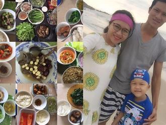 Anh chồng đảm đang nấu đủ món ngon chăm vợ ở cữ, đêm dỗ con để vợ yên giấc gây sốt hội chị em