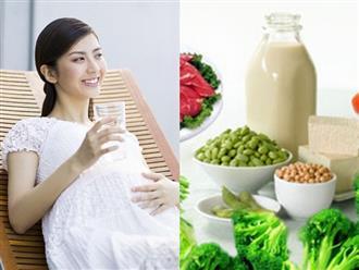 Chế độ dinh dưỡng của bà bầu 3 tháng đầu thai kỳ