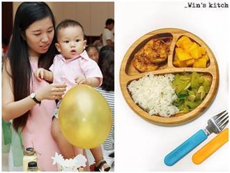 Chỉ 30 phút, mẹ Bình Thuận nấu cho con bữa ăn dặm với cơm ngon mê ly