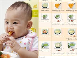 Chuyên gia dinh dưỡng hướng dẫn mẹ các bước khởi đầu trong hành trình cho trẻ ăn dặm