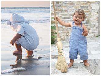 Cuộc sống của cậu bé hai tuổi qua ống kính của người mẹ nhiếp ảnh gia