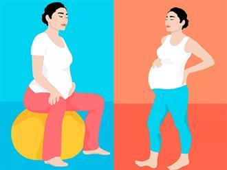 Đang sợ đẻ, mẹ bầu hãy học ngay 10 tư thế giúp tử cung mở nhanh, dễ sinh con này!