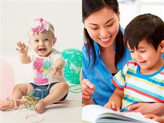 Dạy trẻ nhanh biết nói bằng cách dành thời gian tích cực cho trẻ theo ý kiến chuyên gia