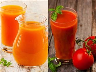 Điểm danh 6 loại nước ép rau củ cực kỳ tốt cho sức khỏe bà bầu và thai nhi