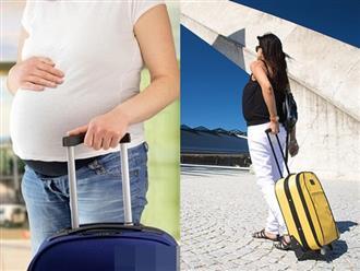 Du lịch khi mang thai bà bầu cần chú ý điều gì?