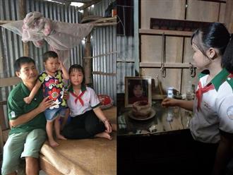 Mẹ qua đời, em gái bị ung thư máu, cô bé 14 tuổi thui thủi sống một mình để cha rảnh tay đưa em gái đi chữa bệnh nơi xa