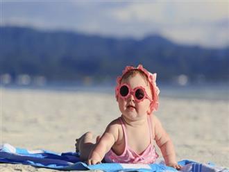 Gia đình nào sắp cho con đi biển thì nhất định phải biết những điều này để đảm bảo an toàn cho trẻ