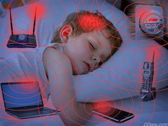 Hình ảnh này cho thấy vì sao cha mẹ nên hạn chế trẻ tiếp xúc với sóng wi-fi