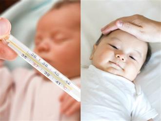 Hướng dẫn mẹ cách đo nhiệt độ cho trẻ sơ sinh