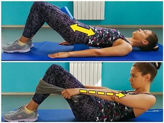 Không cần đến phòng gym, 9 bài tập giảm mỡ bụng sau sinh đơn giản này sẽ giúp các mẹ lấy lại vòng eo mơ ước