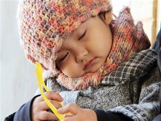 Làm gì khi trẻ bị nghiến răng khi ngủ?